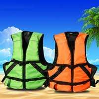 Wholesale Adult professional life jacket belt across the lifesaving whistle The inflatable inflatable boats for color optional