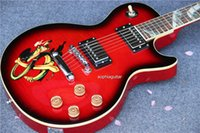 Wholesale New here Beauty Snake Fingeboard New Arrival Red Custom Shop Slash Electric Guitar