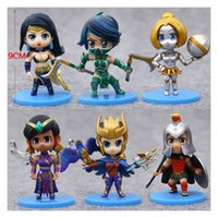 action figures collectibles - 2016 For League of Legends ACTION FIGURE SET OF Quinn Pantheon Orianna Akali Sivir Karma Good quality LOL Collectibles IN STOCK