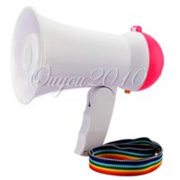 best active loudspeakers - New Arrival Best Price Mini Portable Megaphone Foldable Bullhorn Handheld Grip Loud Clear Voice Amplifier Loudspeaker
