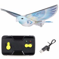 rc bird - Flappy Bird RC Toy G m PVC EPP USB Charging RC Flying bird with mAh Polymer Battery for kids