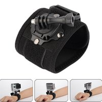 Wholesale Gopro Accessories Degree Rotating Wrist Hand Strap Band Tripod Mount Holder For GoPro Hero SJ4000 Action Camera