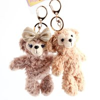 Wholesale New Cute Duffy Bear Plush Bears Doll Pendant Shape Shelliemay Halloween Style cm Soft Stuffed Toy Keychain Bag Pendant