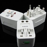 ac converter - All in One Universal International Plug Adapter World Travel AC Power Charger Adaptor with AU US UK EU converter Plug
