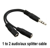 Wholesale Audio Conversion Cable mm Male To Female Headphone Jack Splitter Audio Adapter Cable