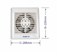 automatic window shutters - The bathroom exhaust fan window wall automatic shutter inch ball