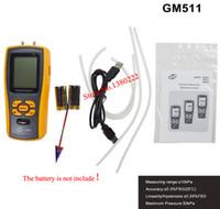 Wholesale BENETECH GM511 Portable USB Digital LCD Pressure Gauge Differential Pressure Manometer Measuring Range kPa Pressure manometer