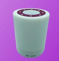 Wholesale New Mini Smart LED Wireless Bluetooth Speaker V1 Portable Stereo