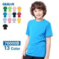 advertising children - 2016 New Casual Children t Shirts Cotton Colors Shirts For Kids Crew Neck Customizable Advertising Blank t Shirt Boys Girls Tops