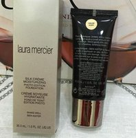 basic oils - New Arrival Branded Cosmetics Laura Mercier Silk Creme Foundation Primer ML Shades Basic Face Makeup Primer bb creams Brand Powder