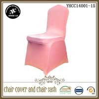 Wholesale 100pc standard size spandex chair cover with an arch kinds color can be choose