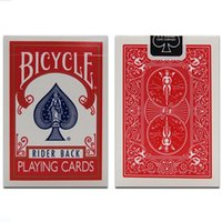 bicycle playing cards deck - Bicycle Poker pcBicycle Magic Regular Playing Cards Rider Back Standard Decks Magic Trick WYQ