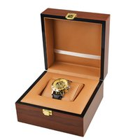 Wholesale 2016 new arrival fashion High Grade Gift wood watch box cases for all brand logo watches excellent quality
