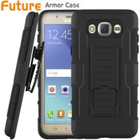 alcatel one touch - For Sumsung J7 Armor Case Impact Hybrid Case For J1 Alcatel One Touch Case With Belt Clip Holster Kickstand Combo Case DHL