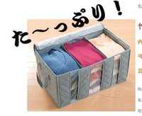 bamboo news - hight quality news L three cases Bamboo storage clothing order bags taste windows storage box kg