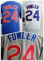 dexter - Mens Dexter Fowler Jersey New Elite Baseball Jerseys Stitched White Blue Grey Size S XL