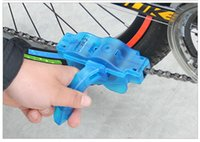 Wholesale New Bicycle Mountain Bike Chain Cleaner Tools Flywheel Brush Scrubber Cycling Wash Tool Kits jy513