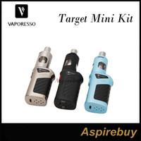 Wholesale Vaporesso Target Mini Kit W VTC Starter Kit ML Vaporesso Guardian Tank with W Target Mini Mod cCell Ceramic Coil Top Fill Authentic