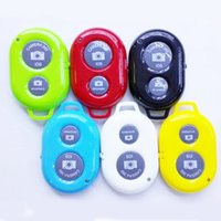 Wholesale Self timer Camera Wireless Bluetooth Shutter Release Remote Control for iPhone iOS Samsung Android phone selfie remote control