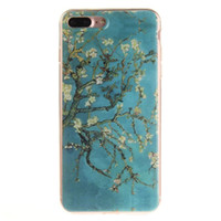 apple flowers - For Apple iPhone Plus TPU Soft Transparent HD Pattern Colourful Flower Hard Clear Coloured Drawing Phone Cover Silicone Phone Shell Newest