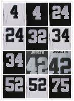 Wholesale 2016 Raiders Elite Mens Jerseys Derek Carr Khalil Mack Amari Cooper Charles Woodson Karl Joseph