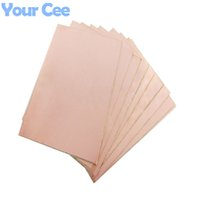 Wholesale Double Side PCB Epoxy Fiber Copper Clad Plate Laminate Laminating mm DIY Electronic
