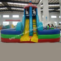 big playground slides - AOQI indoor playground equipment inflatable water park big inflatable water slide used playground slide for sale