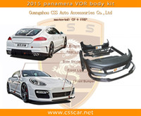 Wholesale For Porsche Panamera Car Change to vorsteiner Style Body Kit With CF FRP Material Car Covers
