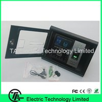 Wholesale Old model Iface702 iface502 iface302 face time attendance metal project box protect cover with key no include machine