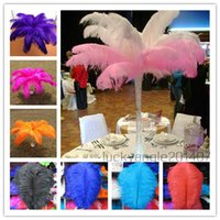 Wholesale Color Natural Ostrich Feathers cm inch Wedding Christmas Decorations Cosplay DIY TNM