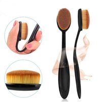 benefit face cream - Makeup Brushes Oval Brush Toothbrush shaped Foundation cleaner benefit cosmetics Cream Puff Powder Face Beauty T250 Tools Accessories