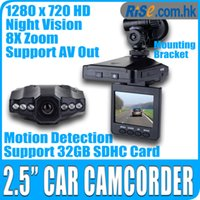 Wholesale Camera p HD Camcorder IR LED Video Night Zoom SD quot DVR Car Recorder