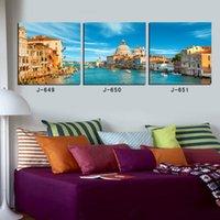 Cheap Paris building 3 piece canvas wall buda abstract oil painting gta 5 paint posters london world map regata art