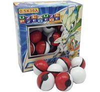 Wholesale 36Pcs ABS classic Action Anime Figures Poke balls PokeBall Fairy Ball Super Ball Master Ball Kids Toys Gift