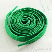Cheap 7 color shoelaces Canvas laces Sports Shoelace Board Shoelace Shoe Accessories Flat thickening of pure cotton lace 1.1 meters free shipping