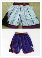basketball shorts sale - Top Auality For Cheap Mens Toronto Retro Basketball Shorts In Purple White Hot Sale