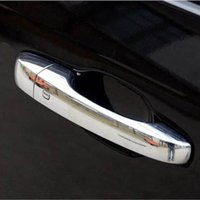Wholesale Car Exterior chrome Accessories for dodge jcuv journey outer side front rear door handle barl cover Shell box trim sticker frame lt no tra