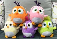 7.2 inch - 7 inch color Angry Bird D movie plush Doll toys cartoon Stuffed Animals cm soft doll good quality with tag Angry Birds toy