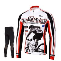 bicycle clothing for men - Tasdan Long Sleeve Cycling Jersey Set Breathable Quick Dry Mountain Bicycle Racing Bike Sportswear Cycling Clothing for Men