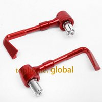 Wholesale CNC Motorcycle hand Protect Brake Clutch Levers Protector Falling Protection Red For Honda CB900 Hornet