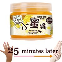 Wholesale Hand care hand wax honey whitening exfoliating lilin tangan la cire de main hand wachs mao de cera mano dicera g GZJ02195