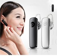 Wholesale M165 Wireless Bluetooth Earphone Stereo Ear Hook V4 Music Earbuds with Ear Hook Sports Handsfree Mobile Phone Earphones