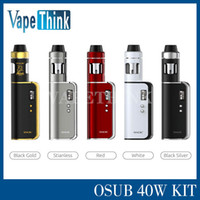 battery sized - 100 Original1350mAh SMOK OSUB W TC Starter Kit with Magnetic battery cover and Pocket size From Vapethink