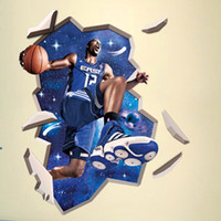 basketball stickers - funlife x90cm x35in Dwight Howard Basketball Superstar D Wall Sticker For Kids Rooms Adesivo De Parede