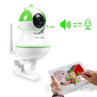 audio zones - A zone Wifi Infant Baby Pet Monitors with Video HD P MP In Home Surveilance IP Camera Pan Tile Night Version way Audio Green Whi