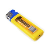 Wholesale Lighter Mini USB Spy DVR Hidden Camera Video Recorder Yellow