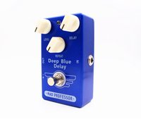 Wholesale Perfect Clone MAD Professor Deep Blue Delay Guitar Effects Pedal True Bypass