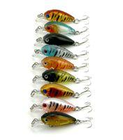 Wholesale HENGJIA New Arrival mix colors CM G hooks CRANKBAIT fishing lures fishing hard bait Big Crank lures CB005