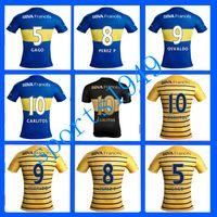 argentina league - rugby Boca Jerseys Juniors Shirt camisas de futebol Riquelme Gago Gigliotti Wholesalers Argentina league