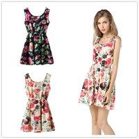 beautifull dress - 2016 New Hot Sleeveless Summer Dress Casual Elegant Dresses For Women Colors Beautifull Fashion Mini Chiffon Women Dress